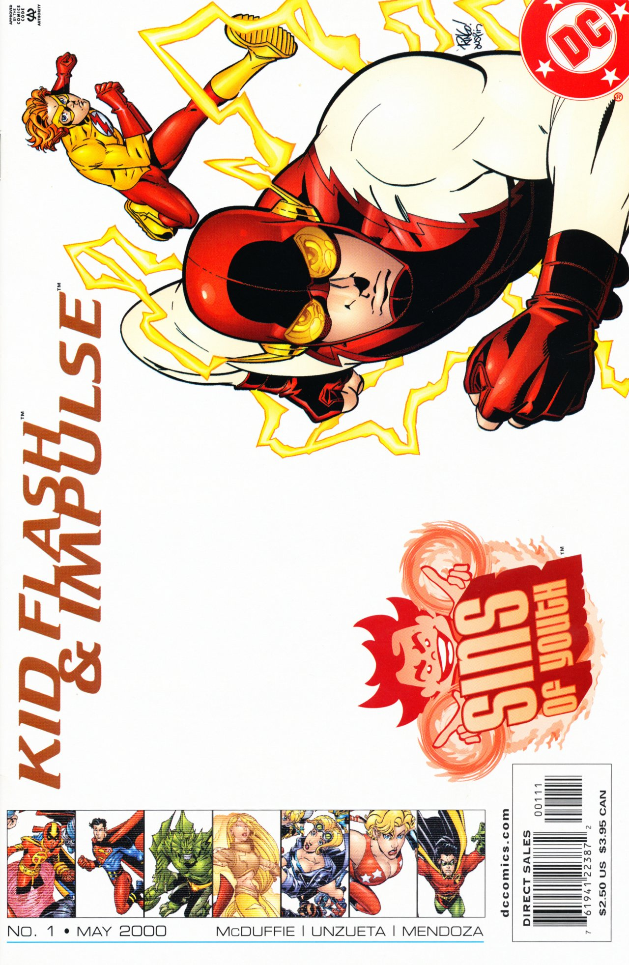 Sins of Youth: Kid Flash and Impulse Vol 1 1