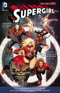 Supergirl Red Daughter of Krypton