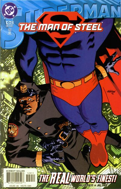 Superman: The Man of Steel Vol 1 129