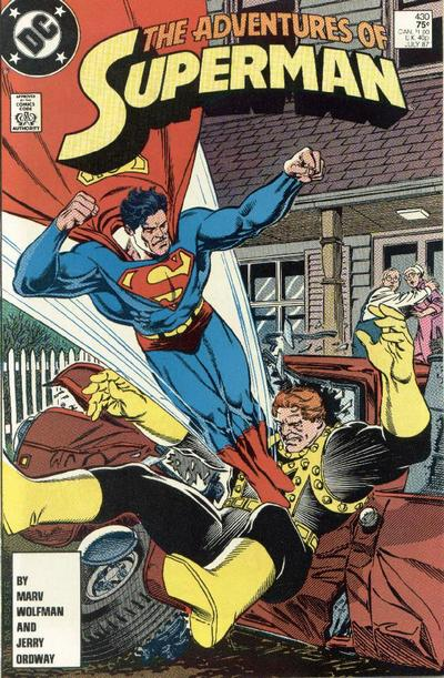 Adventures of Superman Vol 1 430