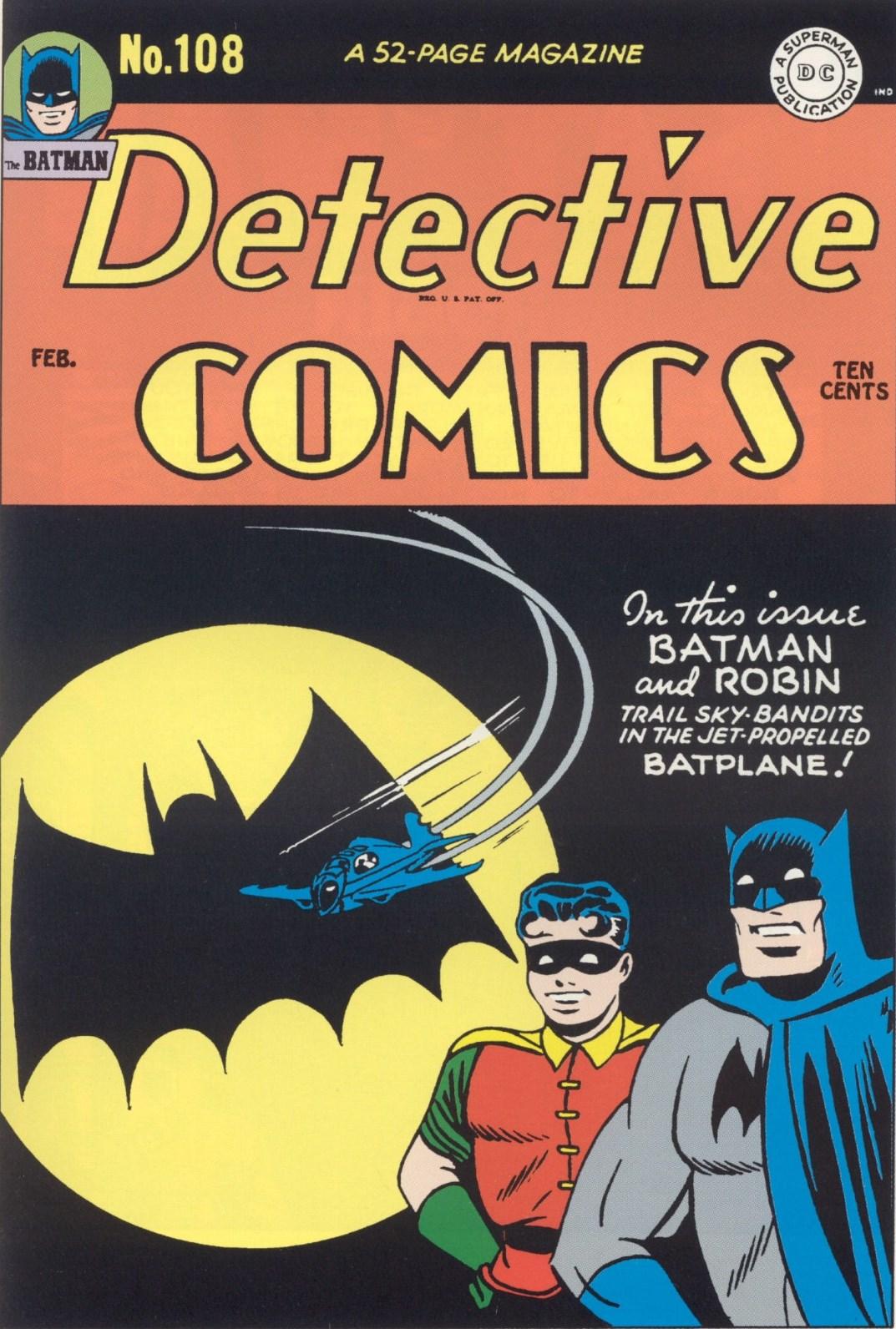 Detective Comics Vol 1 108