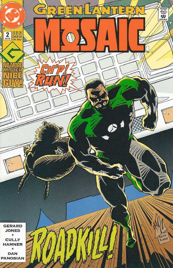 Green Lantern: Mosaic Vol 1 2