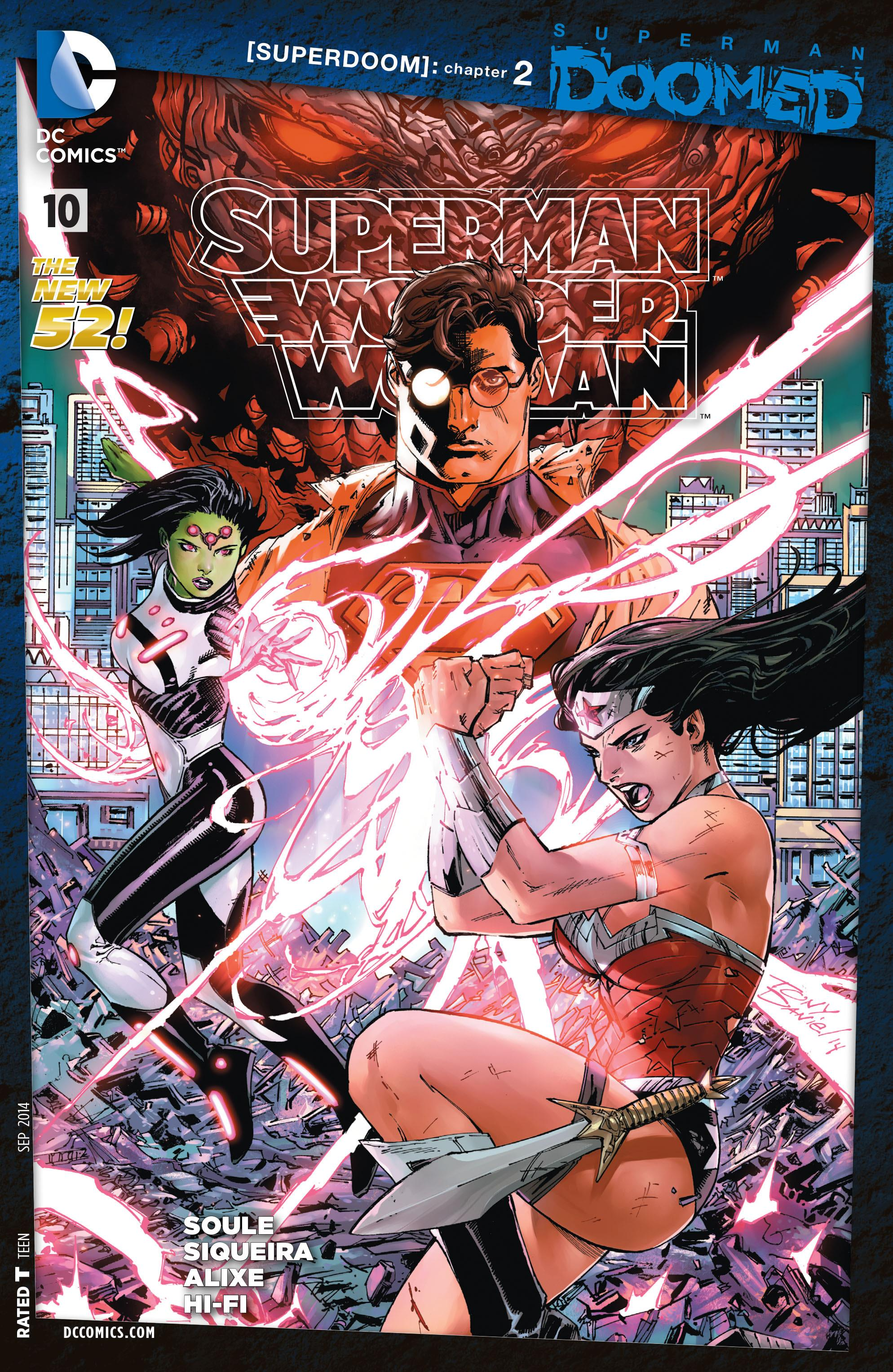 Superman/Wonder Woman Vol 1 10
