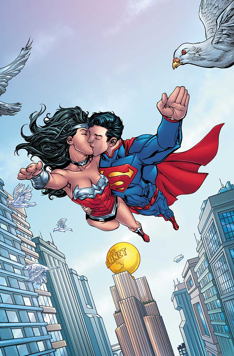 Superman Wonder Woman Futures End Vol 1 1 Present Textless.jpg