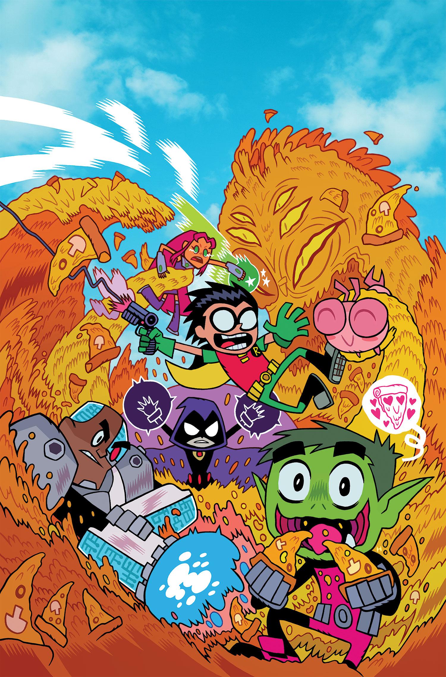 Teen Titans Go! Vol 2 1 Textless.jpg