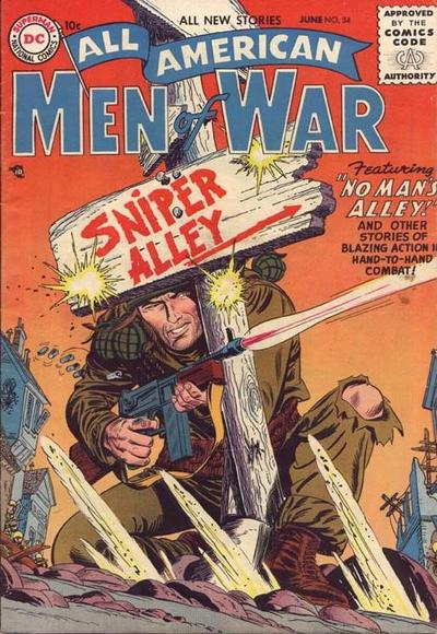 All-American Men of War Vol 1 34