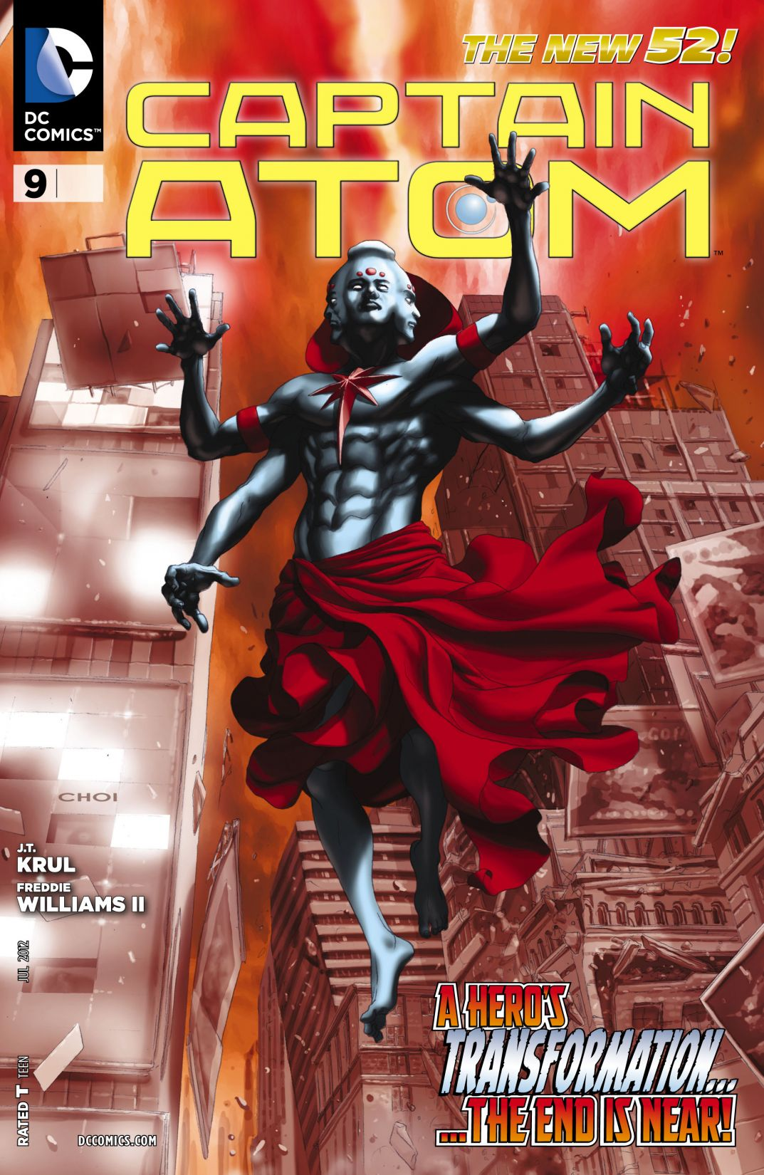 Captain Atom Vol 3 9