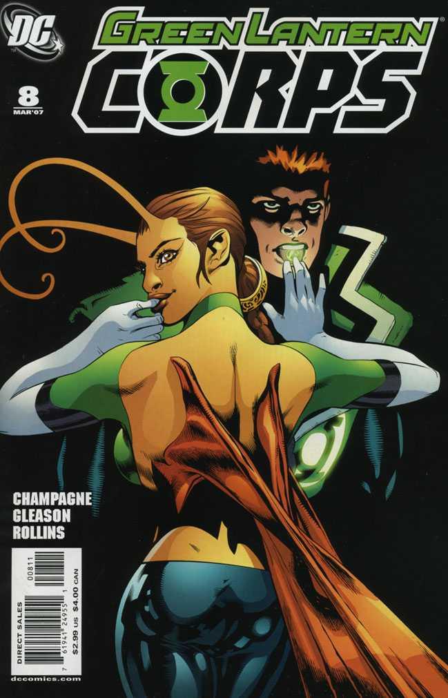 Green Lantern Corps Vol 2 8