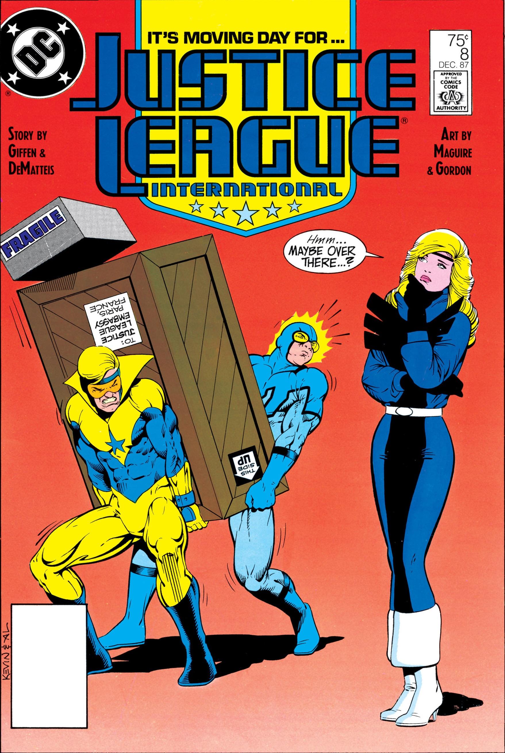 Justice League International Vol 1 8