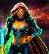 Komand'r DC Legends 0001