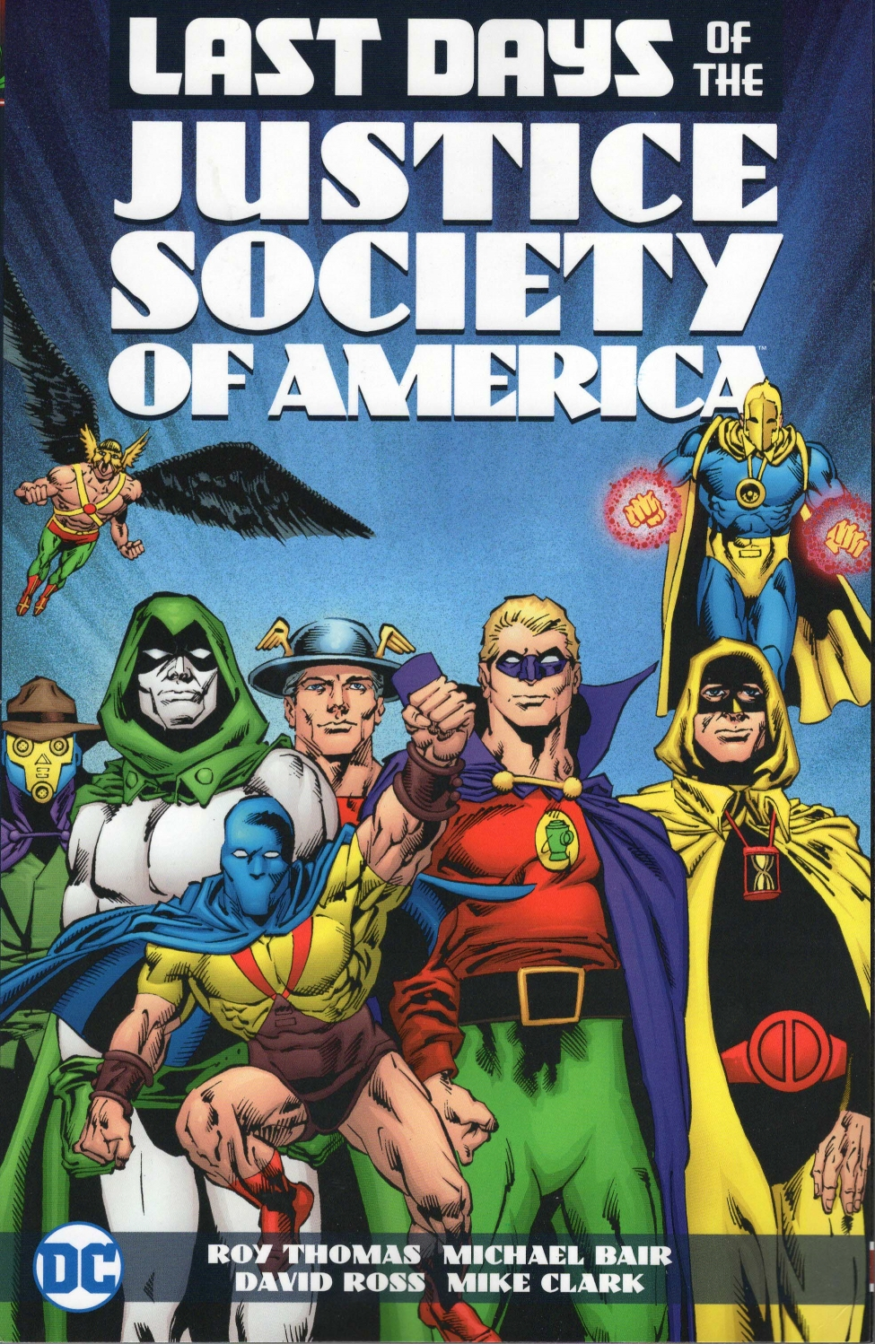 Last Days of the Justice Society of America (Collected)