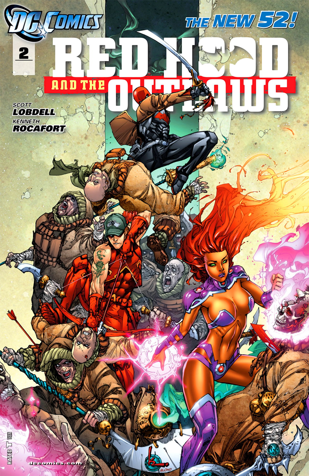 Red Hood and the Outlaws Vol 1 2