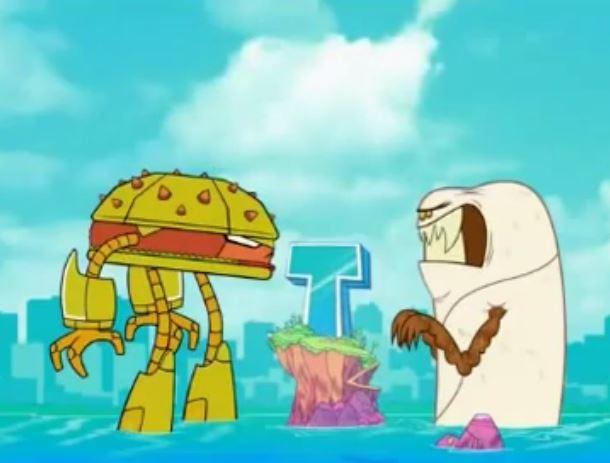 Teen Titans Go! (TV Series) Episode: Burger vs. Burrito