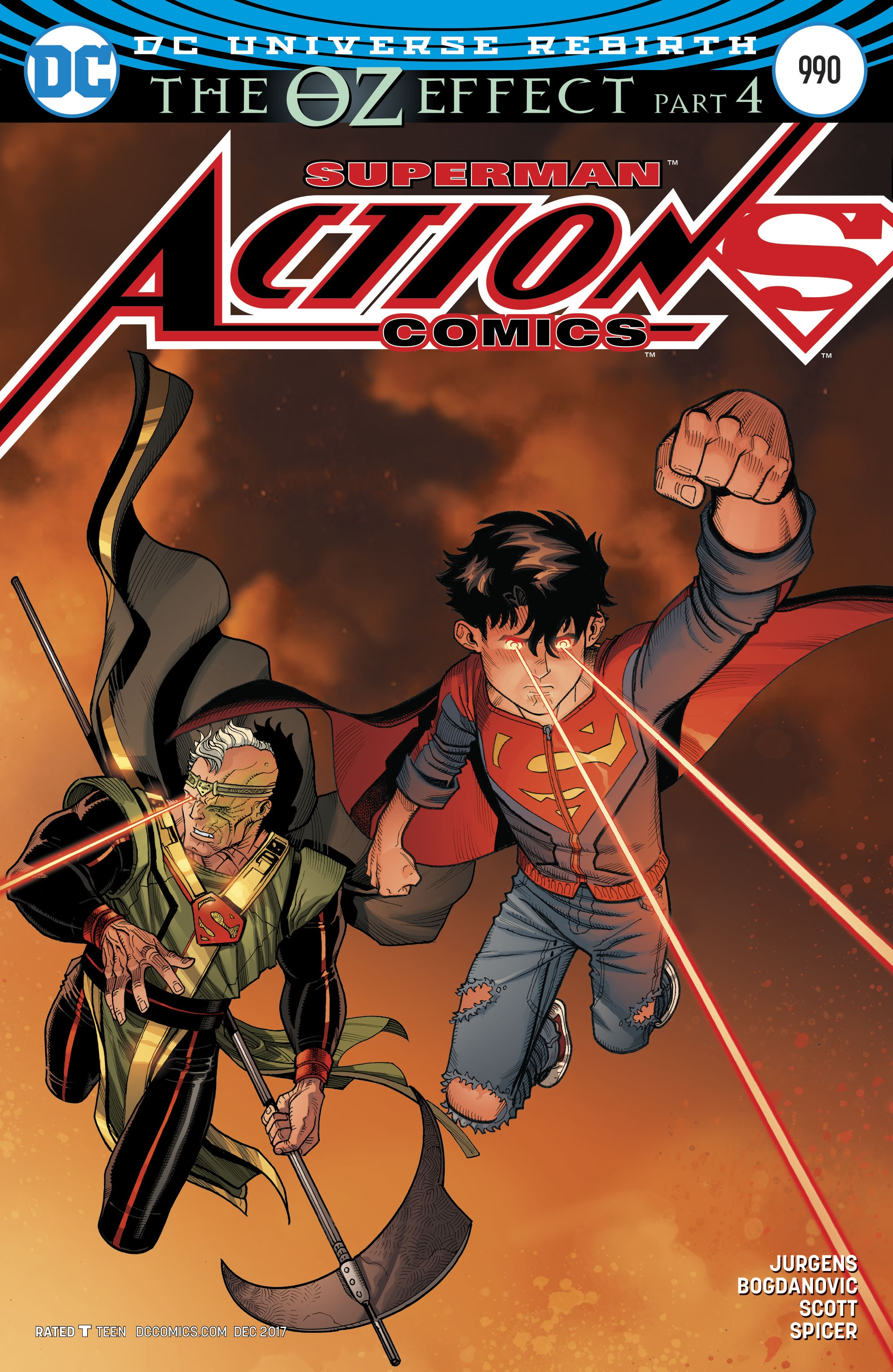 Action Comics Vol 1 990