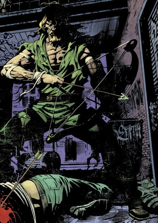 Oliver Queen (Stray Arrow)