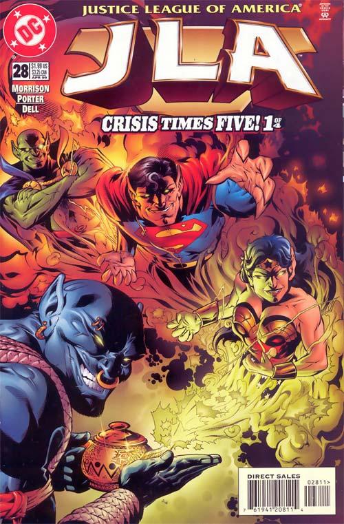 JLA: Crisis Times Five