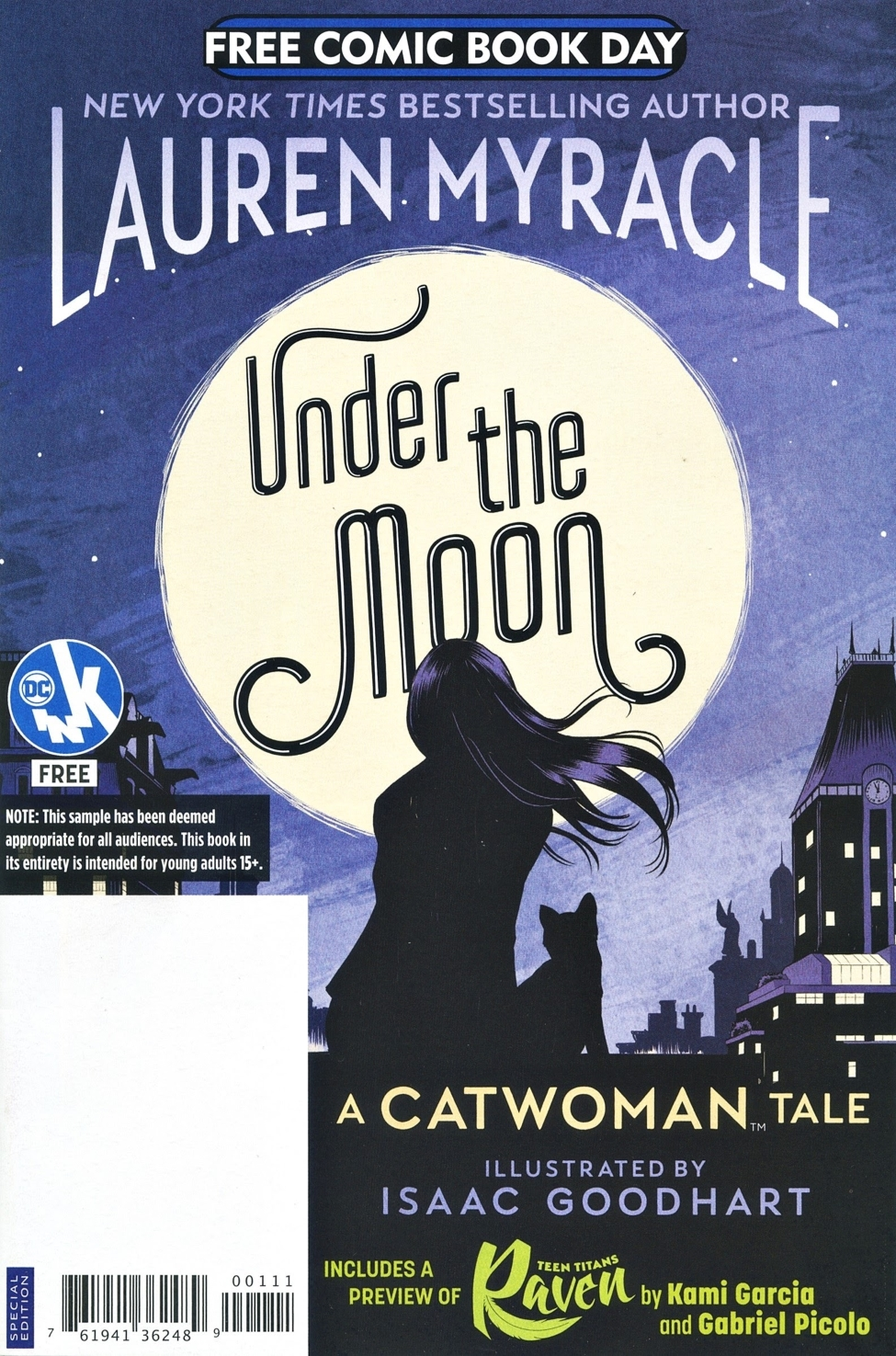 Under the Moon: A Catwoman Tale: FCBD 2019 Edition Vol 1 1