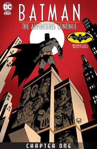 Batman Day Special Edition Cover