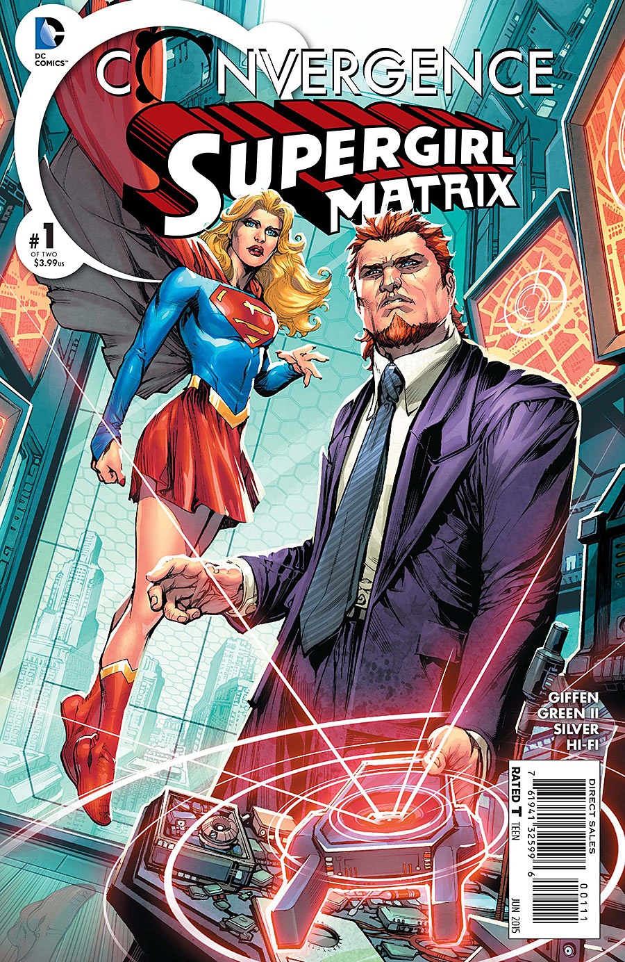 Convergence: Supergirl: Matrix Vol 1 1