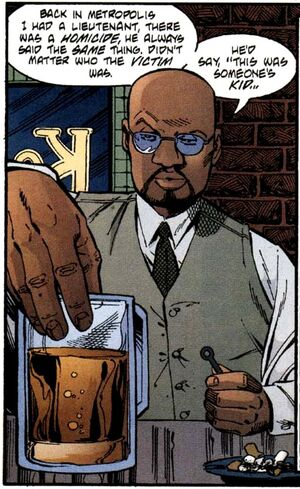 Crispus Allen was a Gotham Police Department detective before becoming the Spectre.