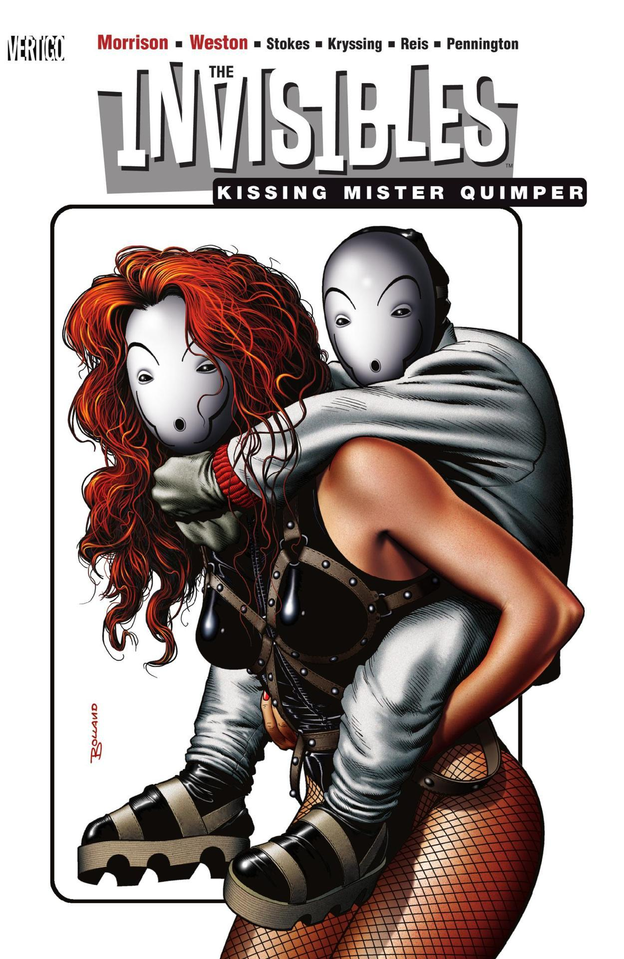 The Invisibles Volume 06: Kissing Mister Quimper (Collected)
