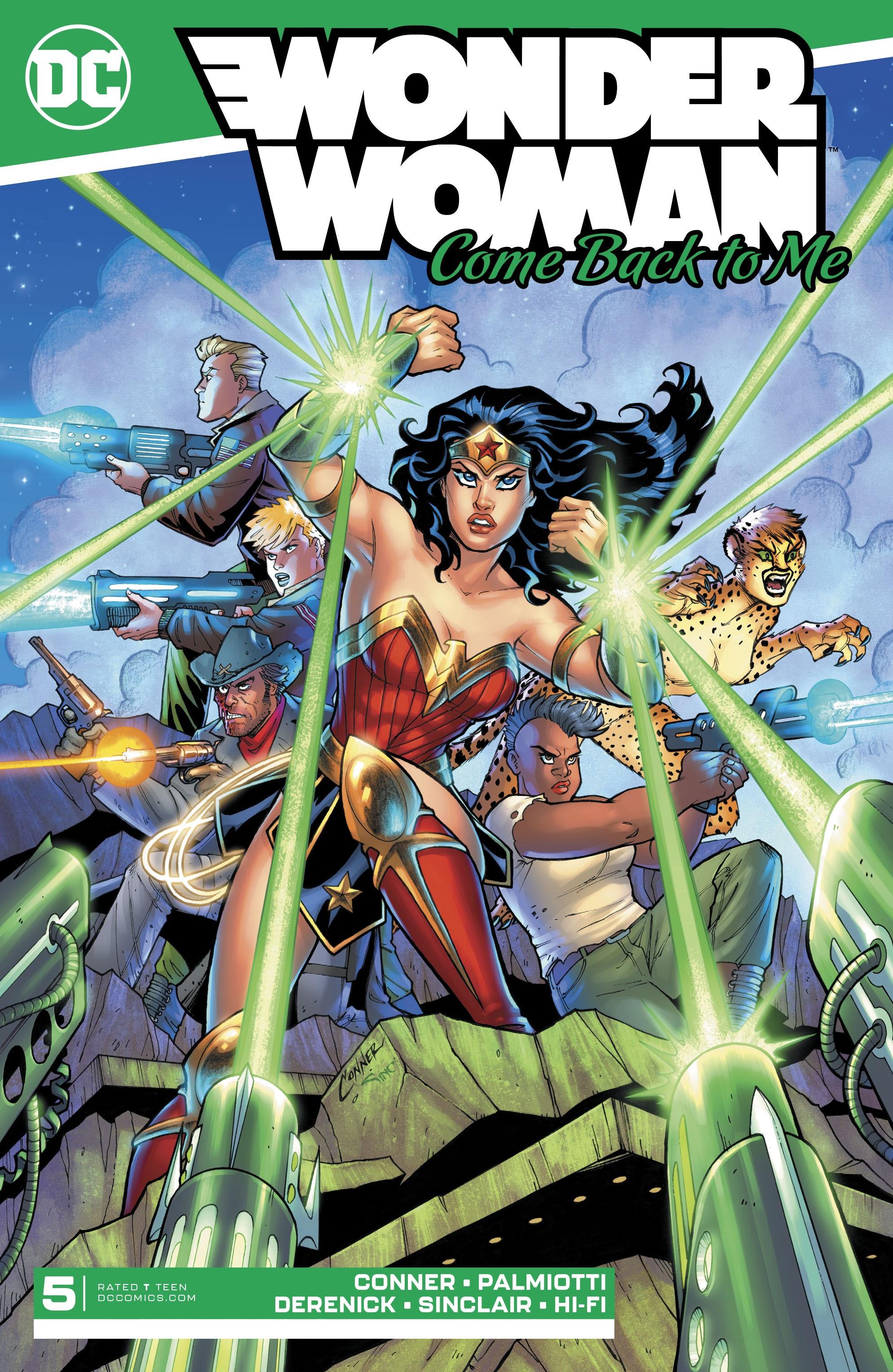 Wonder Woman: Come Back to Me Vol 1 5