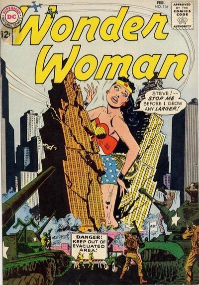 Wonder Woman Vol 1 136