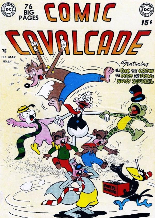 Comic Cavalcade Vol 1 37