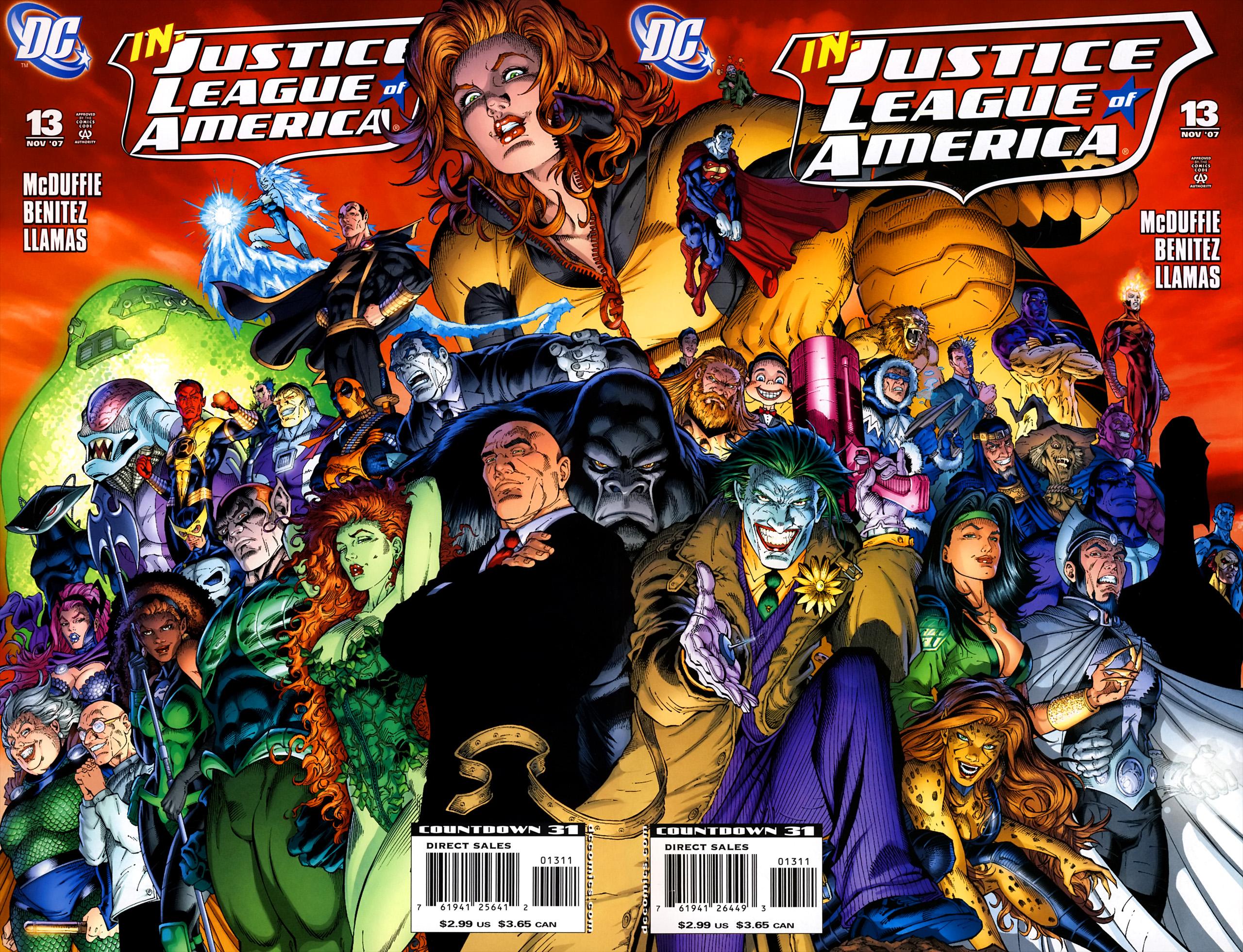 Justice League of America: Injustice League Unlimited