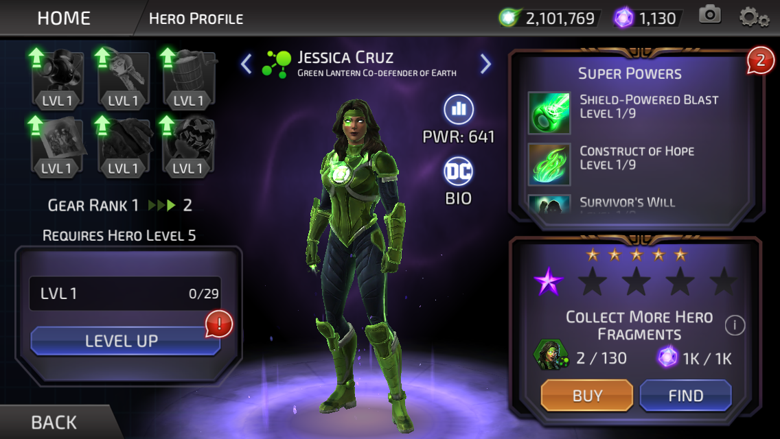 Jessica Cruz (DC Legends)