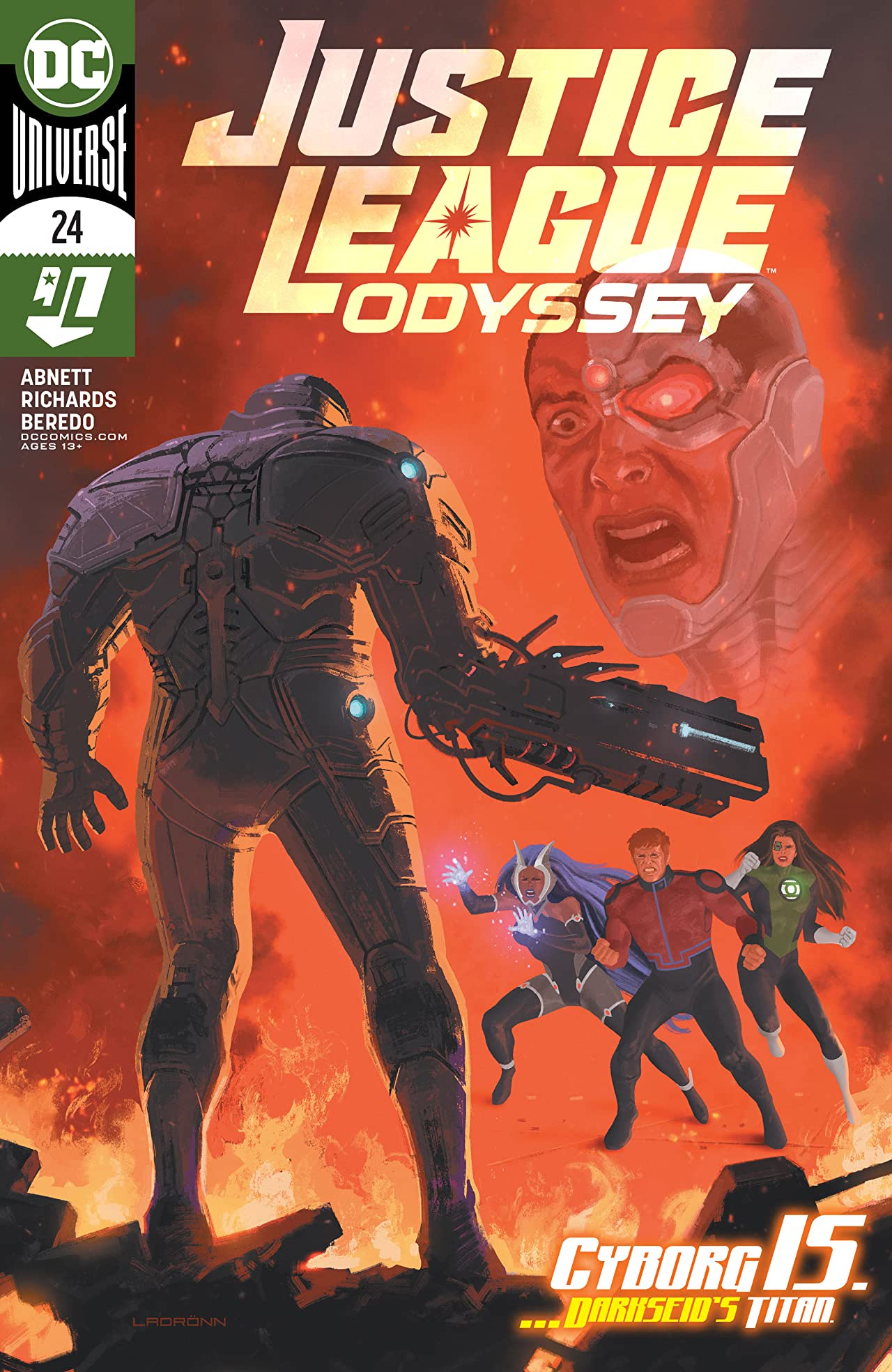 Justice League Odyssey Vol 1 24