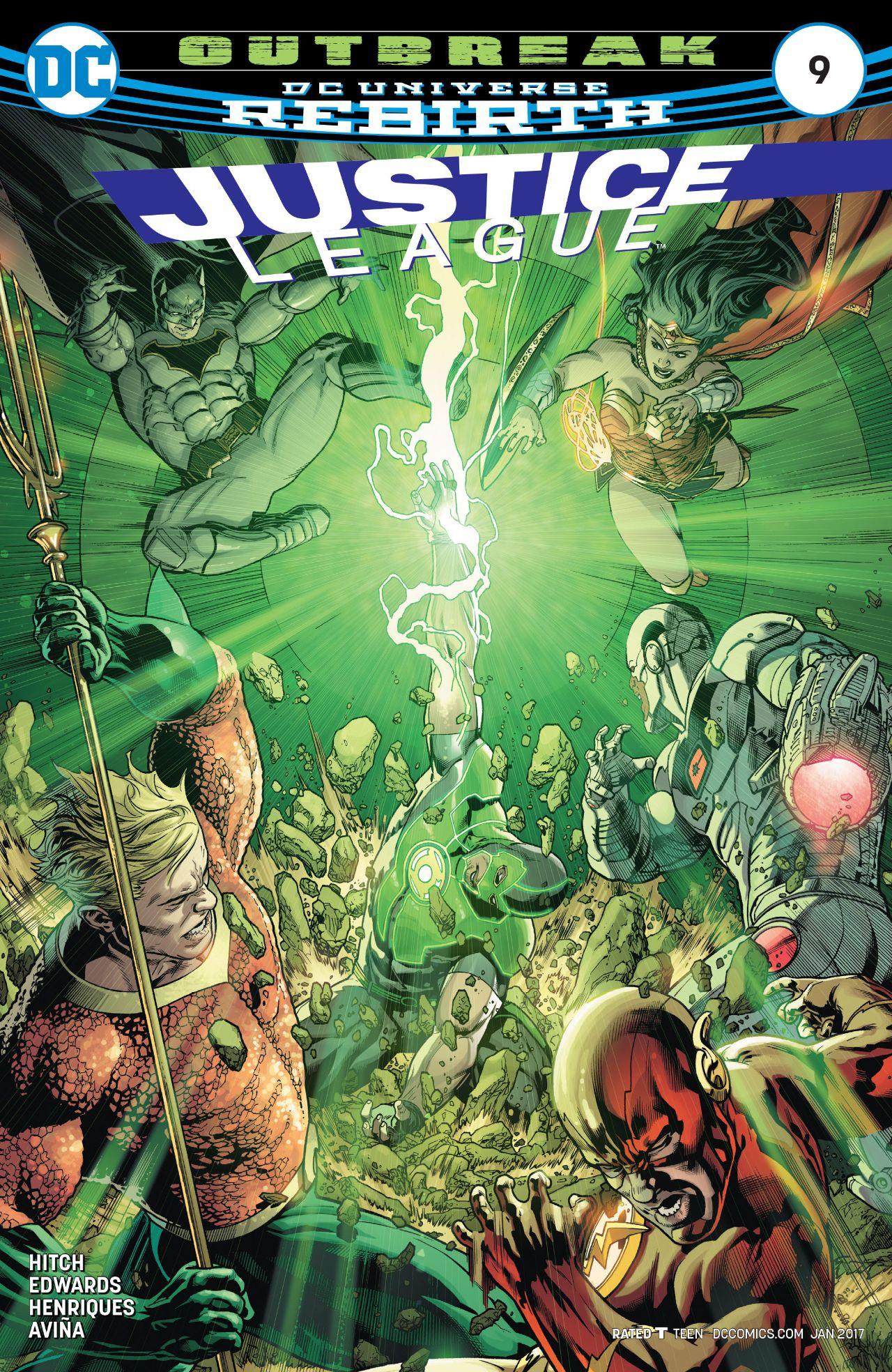 Justice League Vol 3 9