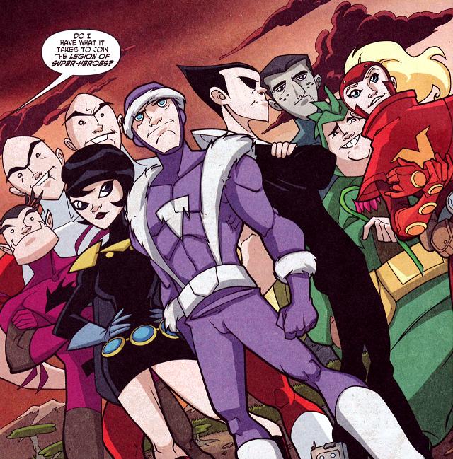 Legion of Substitute Heroes (Legion of Super-Heroes TV Series)