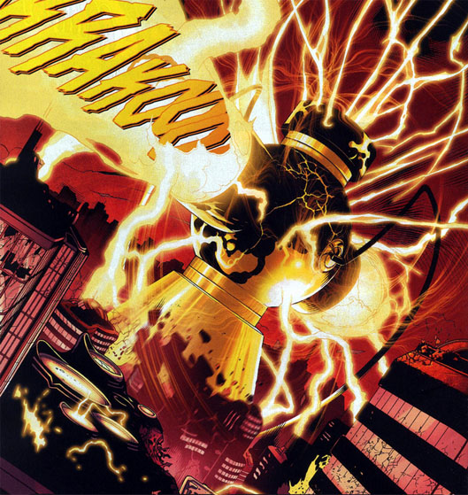 Yellow Lantern Central Power Battery