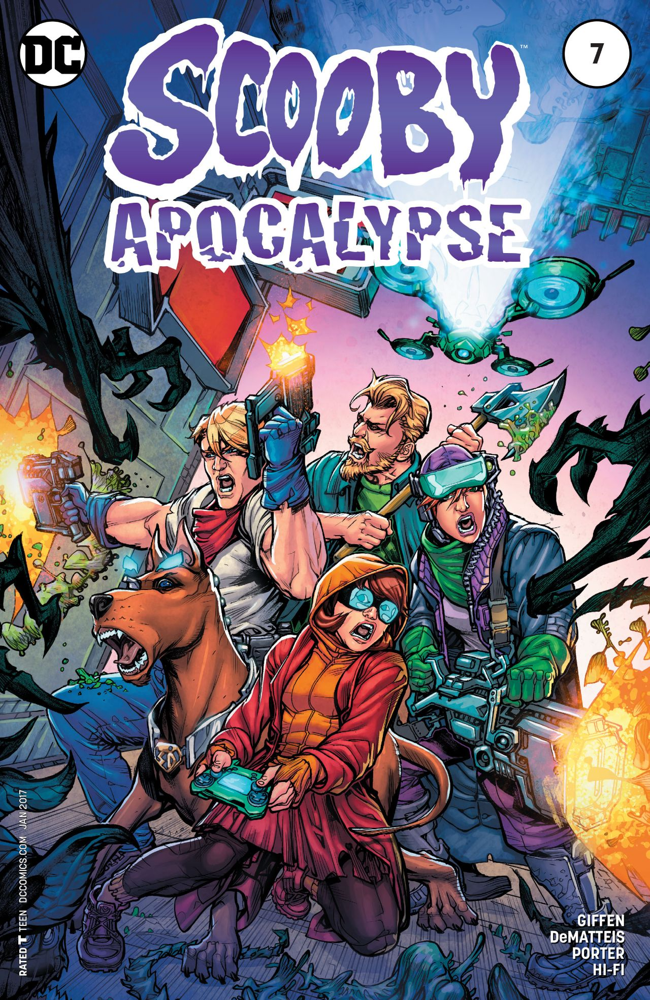 Scooby Apocalypse Vol 1 7