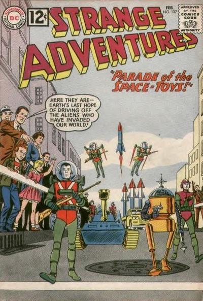 Strange Adventures Vol 1 137