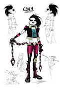 Teen Titans Vol 6 20 Textless Crush Variant