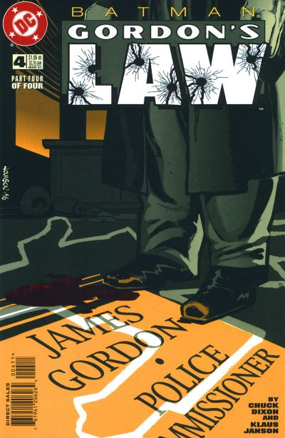 Batman: Gordon's Law Vol 1 4
