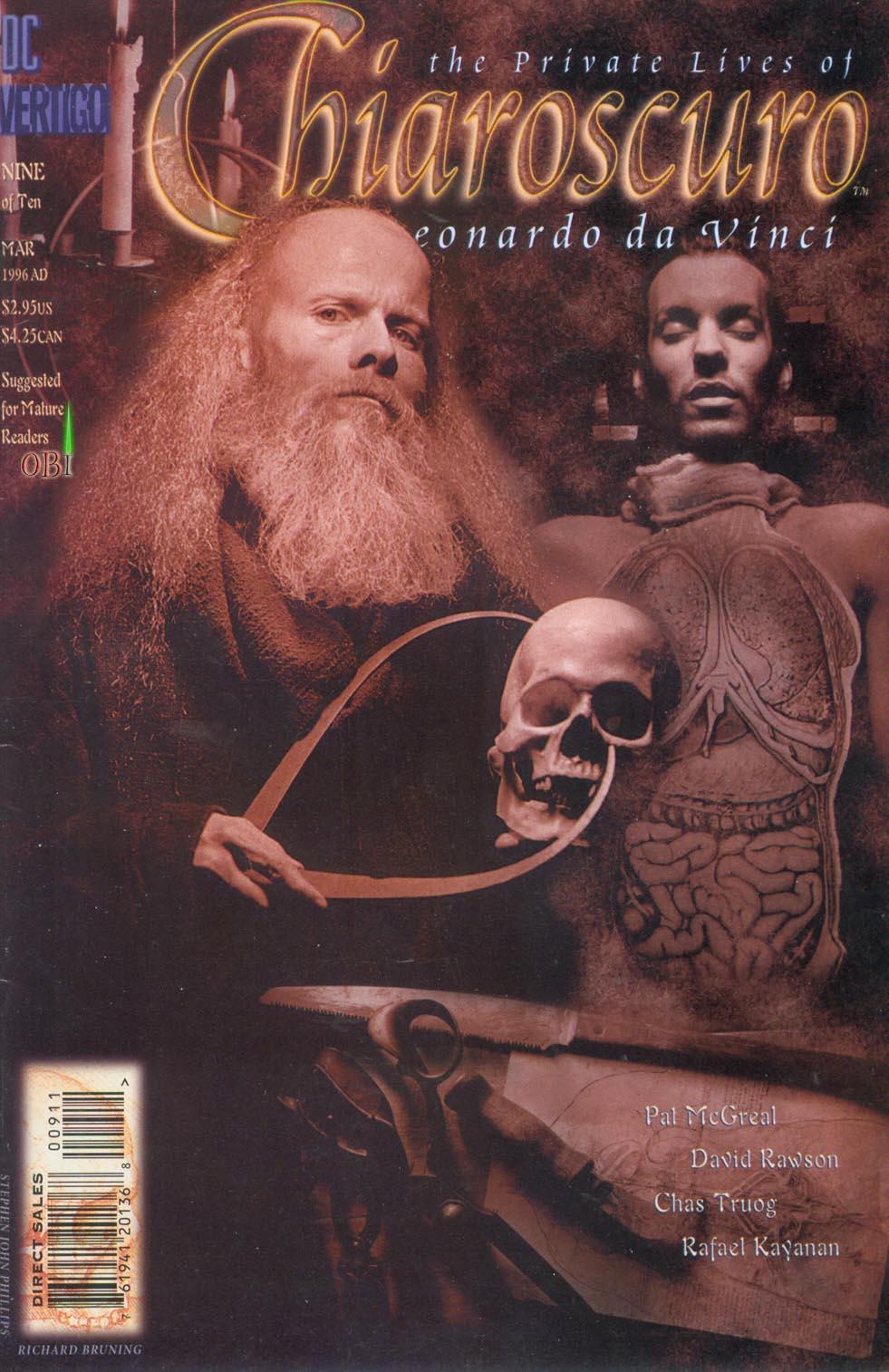 Chiaroscuro: The Private Lives of Leonardo da Vinci Vol 1 9