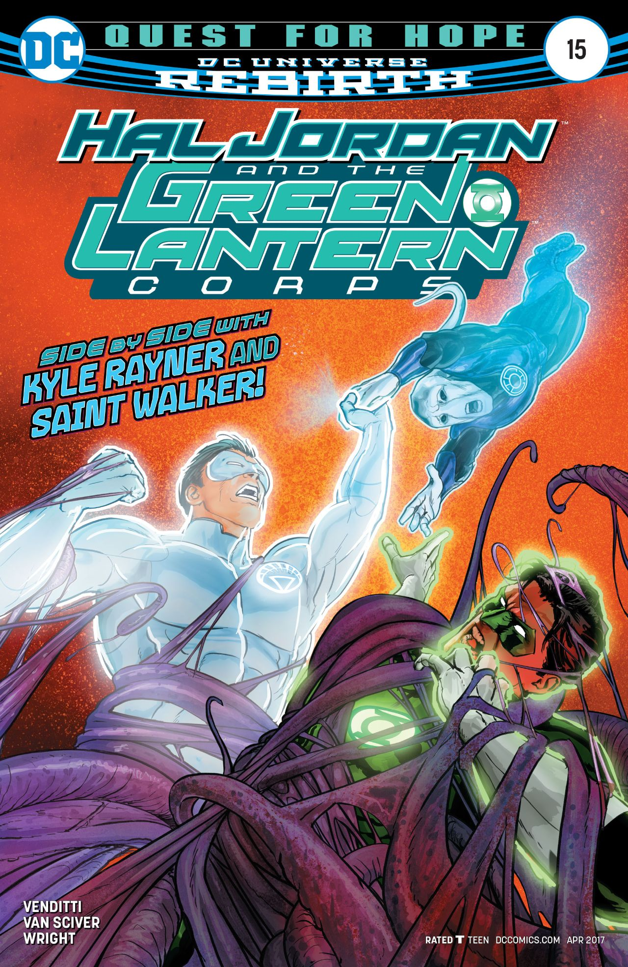 Hal Jordan and the Green Lantern Corps Vol 1 15