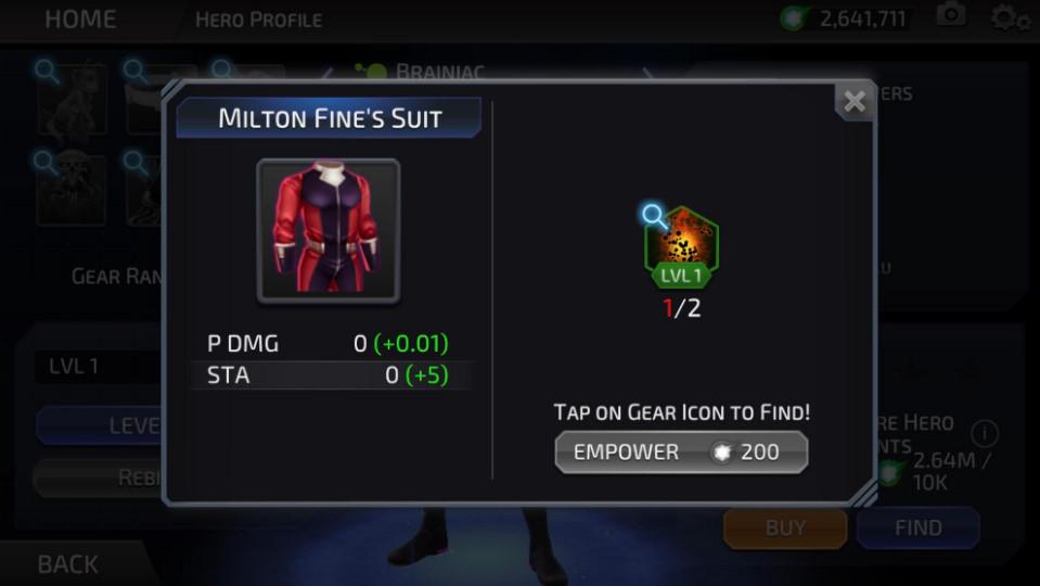 Milton Fine (DC Legends)
