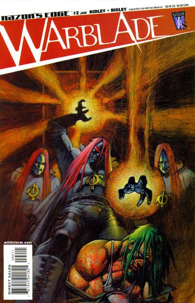 Razor's Edge: Warblade Vol 1 2