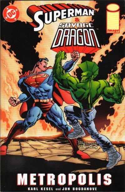 Superman & Savage Dragon: Metropolis