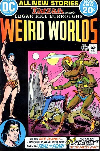 Weird Worlds Vol 1