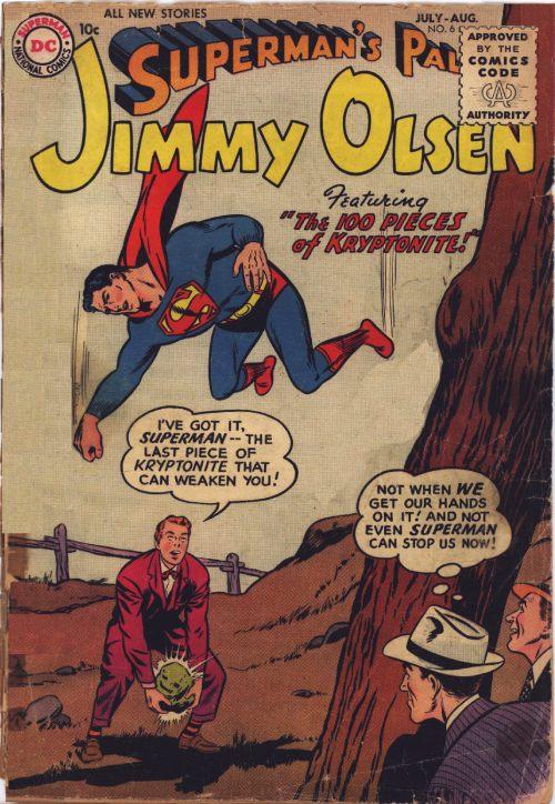 Superman's Pal, Jimmy Olsen Vol 1 6