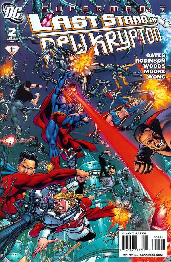 Superman: Last Stand of New Krypton Vol 1 2