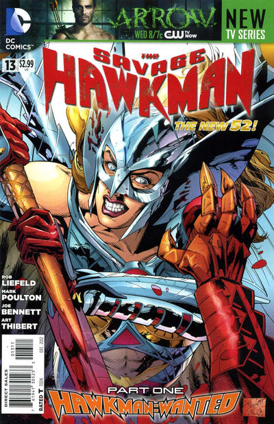 Savage Hawkman Vol 1 13