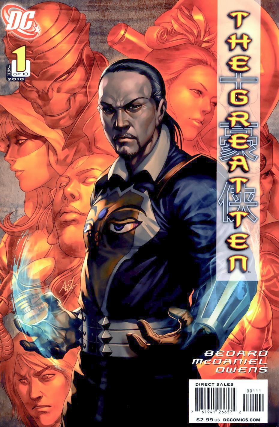 The Great Ten Vol 1 1