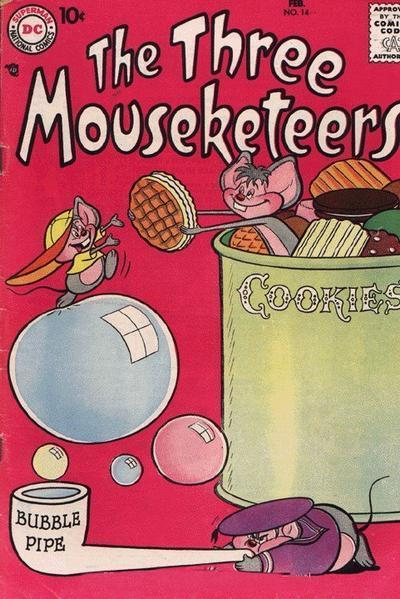 The Three Mouseketeers Vol 1 14