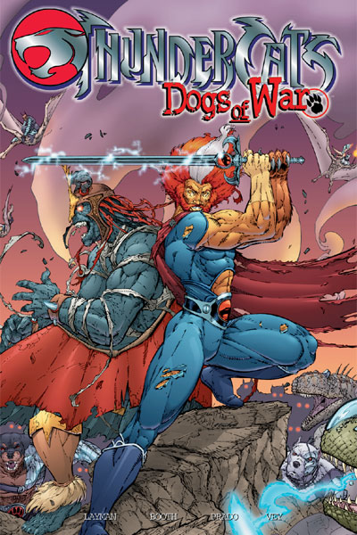 Thundercats: Dogs of War (Collected)